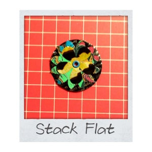 Stack Flowers and Set Eyelets/Grommets