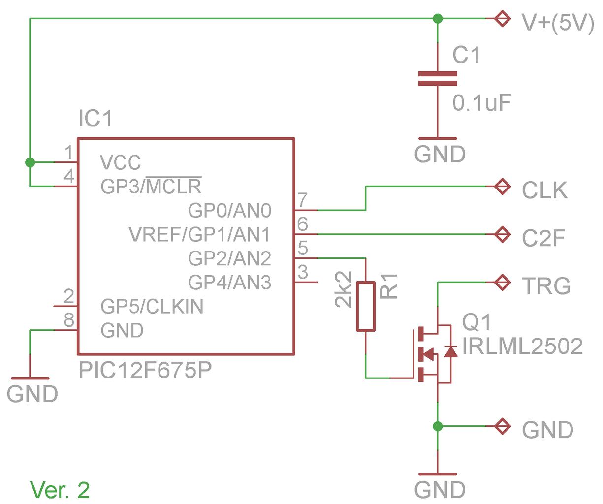 The Monitoring Electronics Circuit