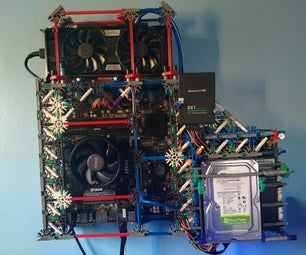 Knex Wall-Mounted Computer Case