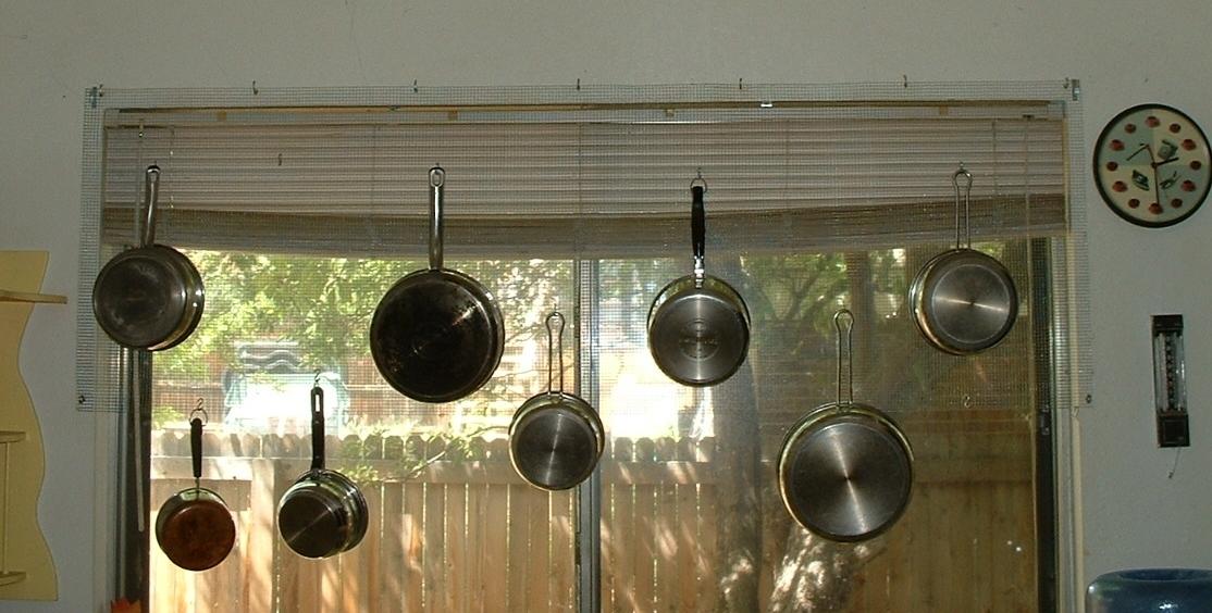 Window Pan Rack