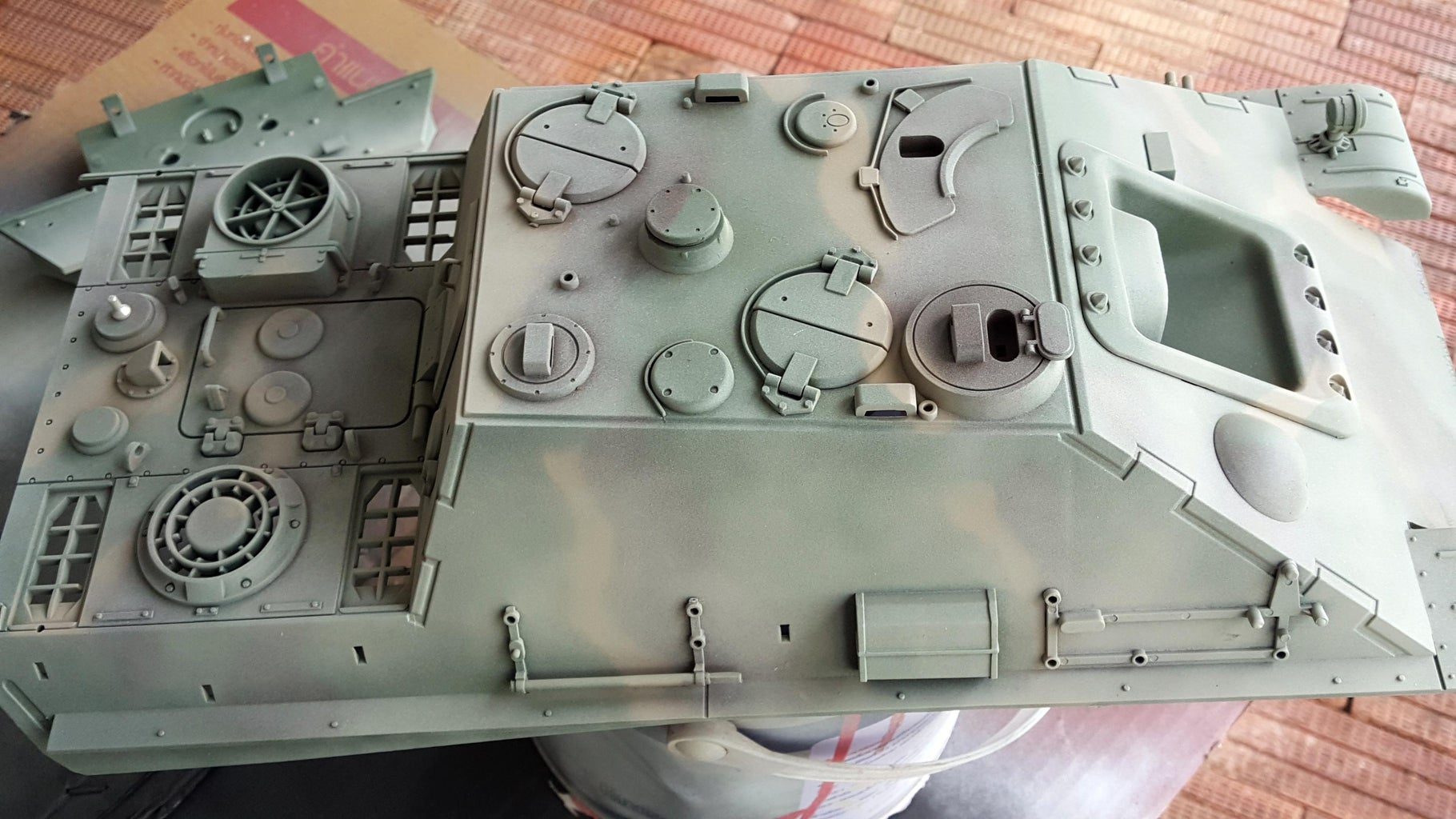Hand Paint the Body