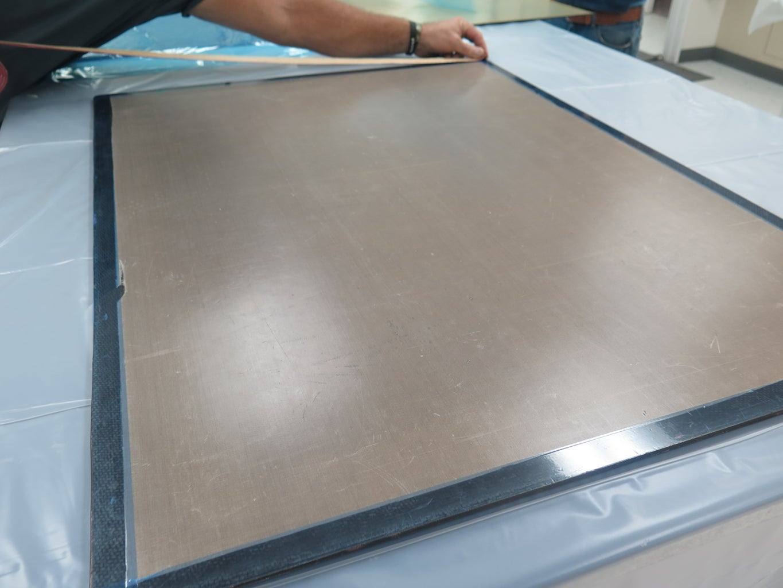 Mold Core Prep - Vacuum Bag 1