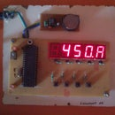 7 segment clock  5 Digit  - ds1307 and 4 button switch