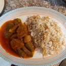 Bamiah ( Okra and Lamb Stew)