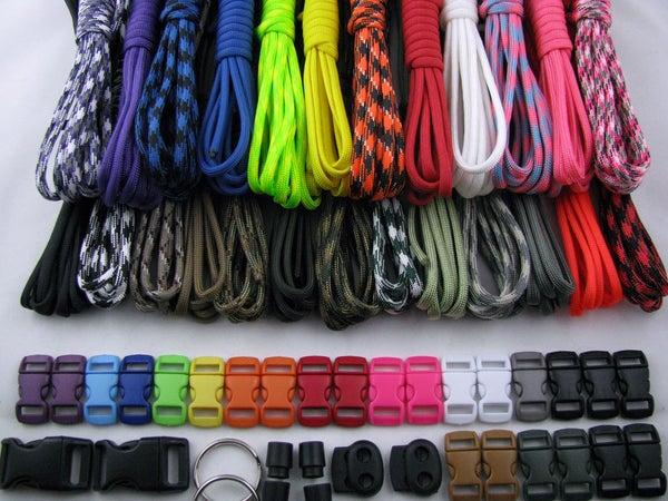 Creating a Cobra Weave Para-cord Bracelet