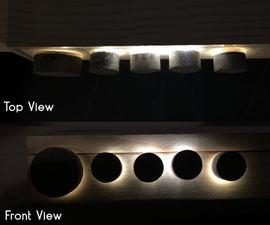 Concrete Volume Knob With LED