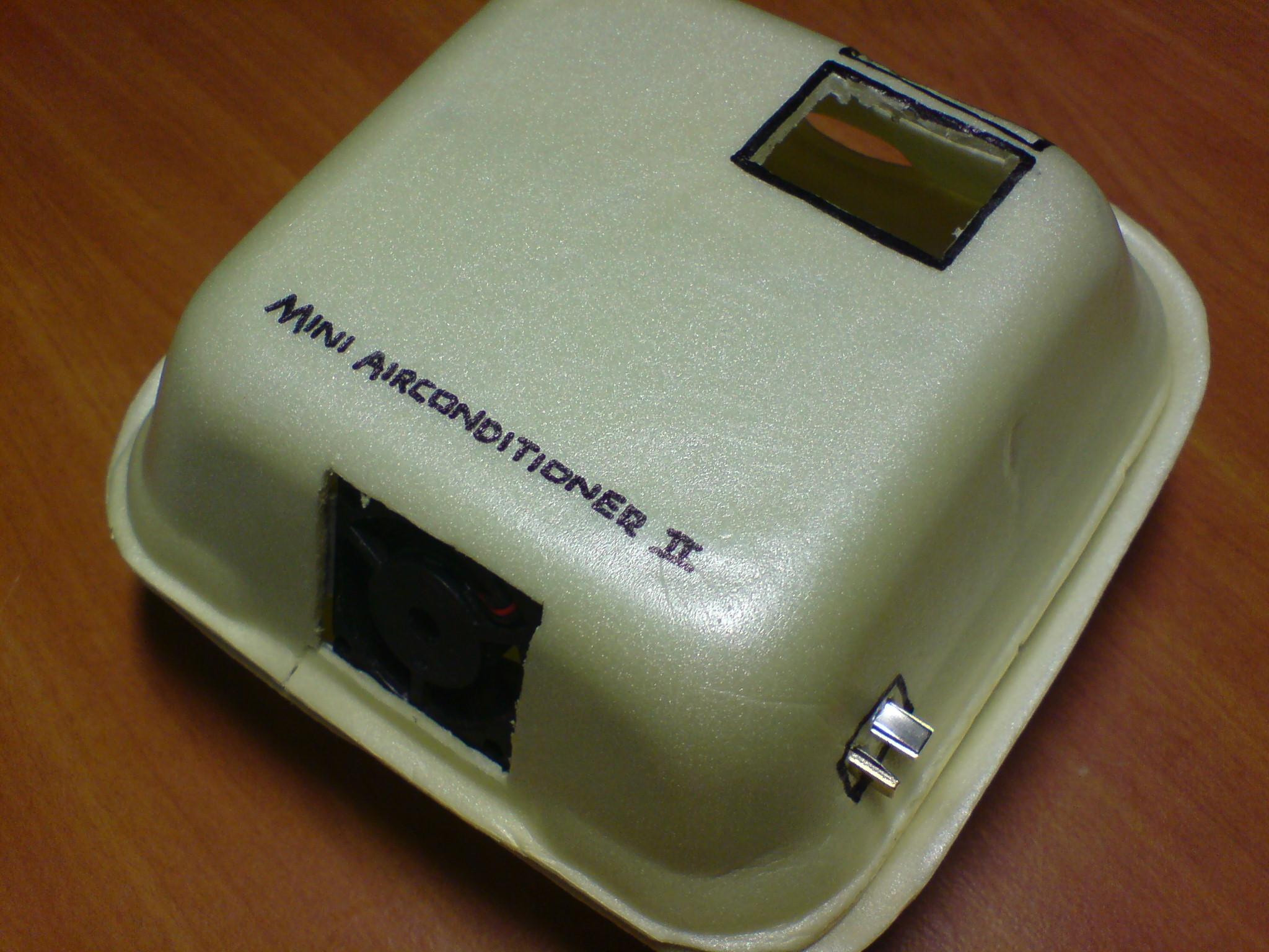 Mini Desktop AirConditioner