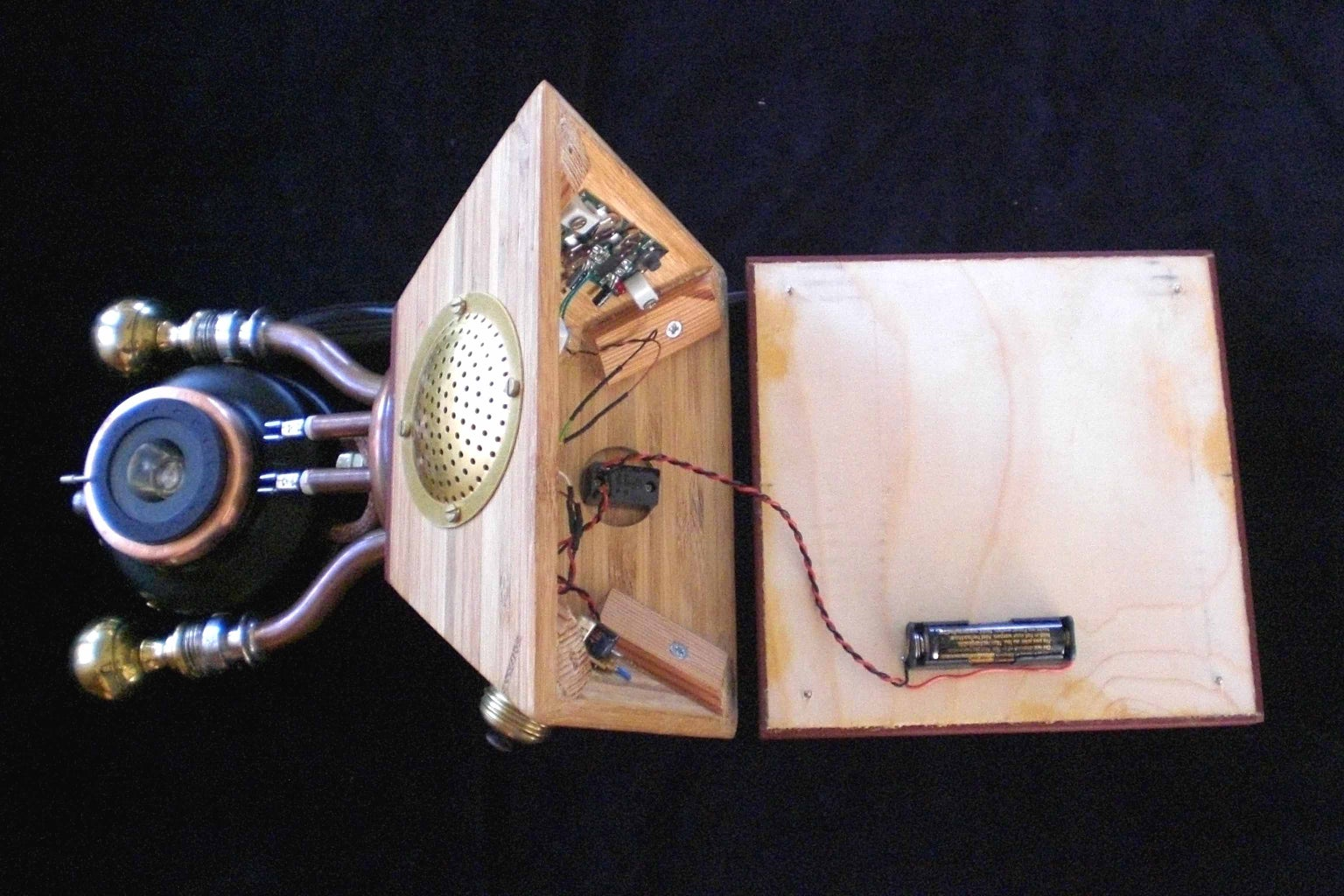 Look Inside the Woodden Box