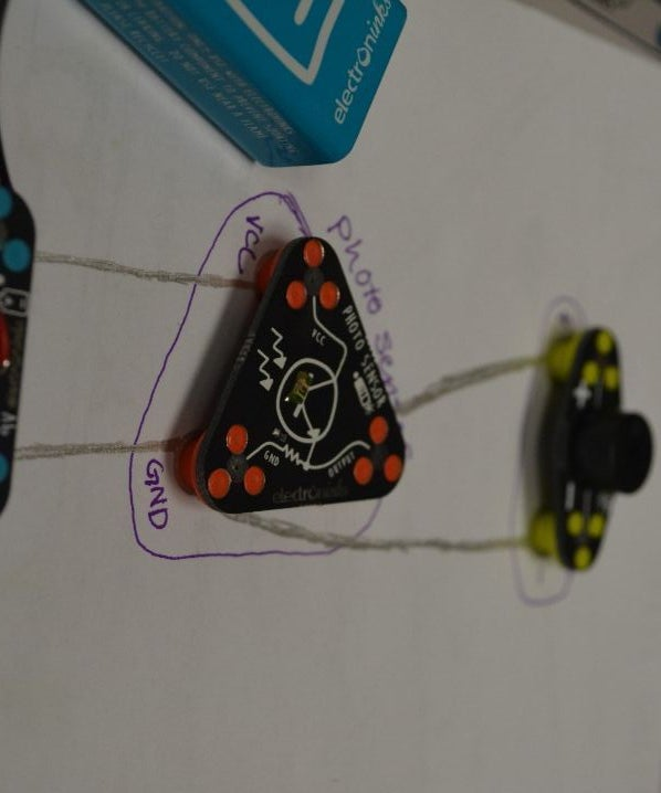 Circuit Scribe Light Theremin