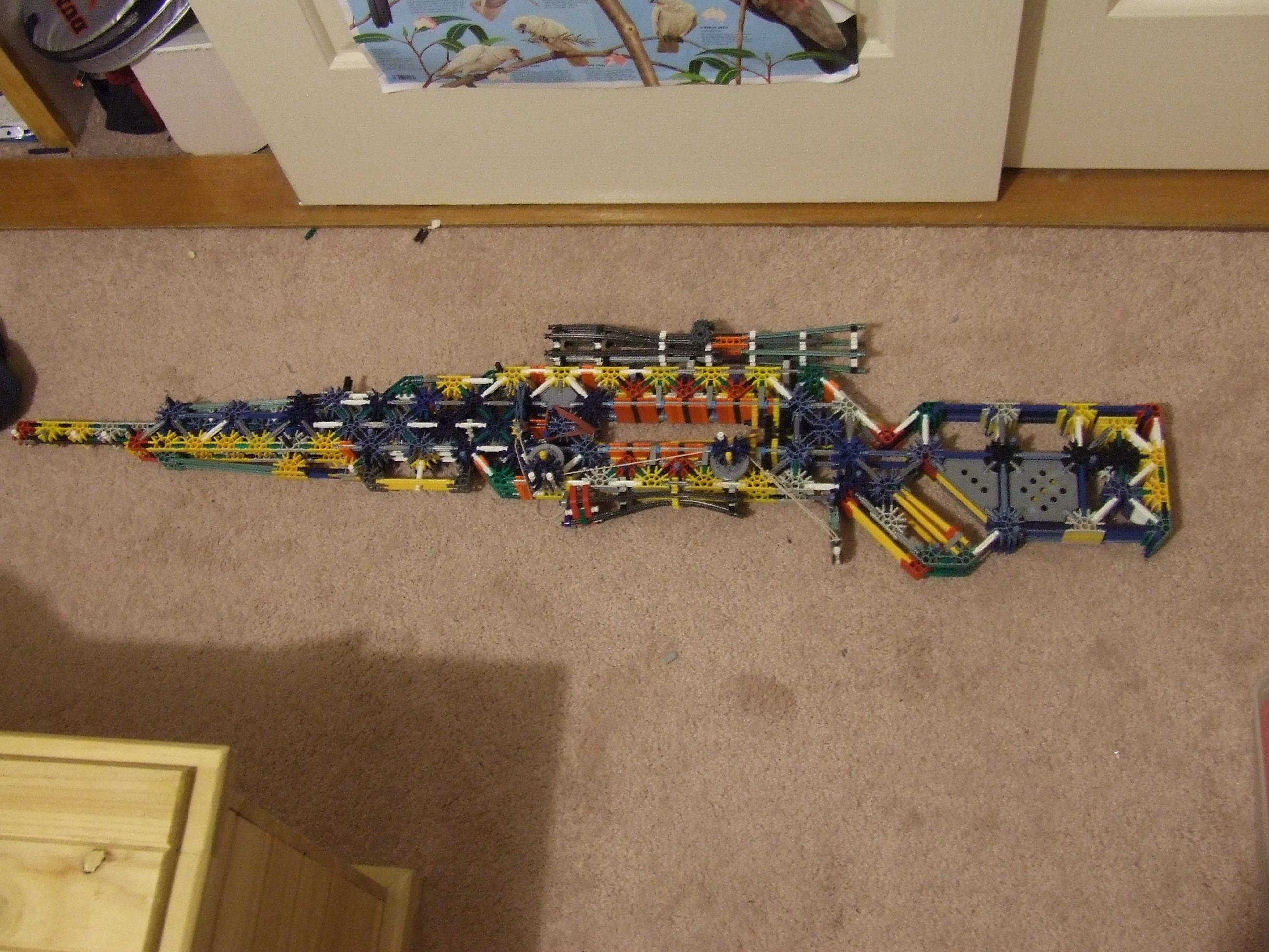 Modded version of the Morretti Sniper