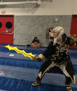 LED Cosplay Levin Sword