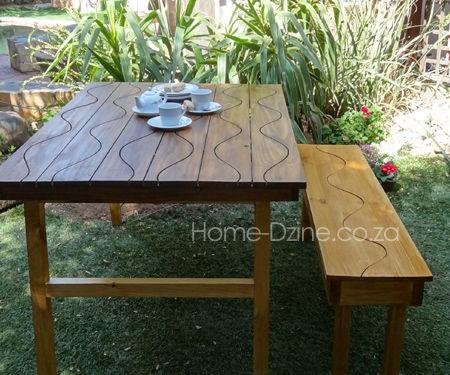 Groovy Folding Garden Table