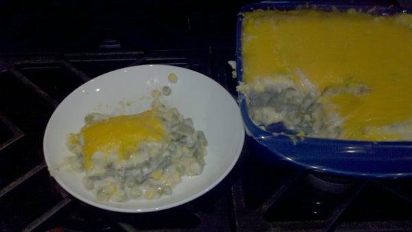 Vegetarian Potato Mushroom Pie