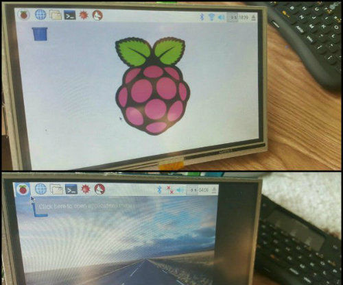 Setting up an 800X400 5inch HDMI LCD for Raspberry Pi