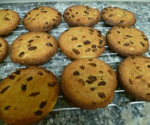 Keto and Diabetic Friendly, Awesome Almond and Sultana Butter Cookies