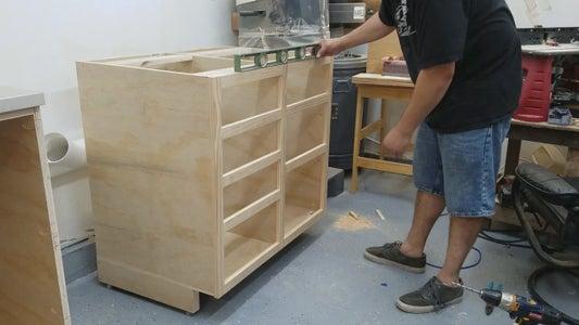 Installing Cabinet Levelers