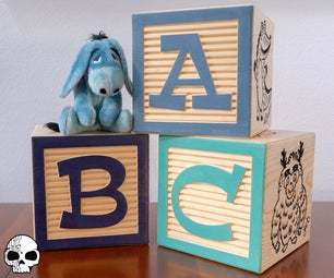 Giant Alphabet Blocks