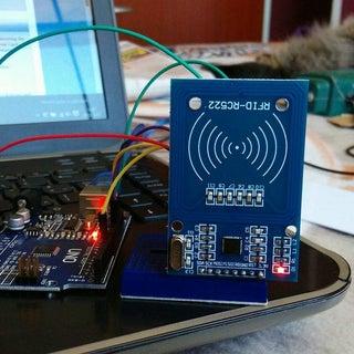Arduino: Wiring and Programming of RFID Sensor