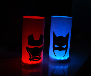 IoT Silhouette Mood Lamp (Email and Twitter Notifier)