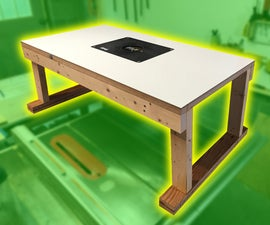 Inexpensive Router Table (Safe & Accurate)
