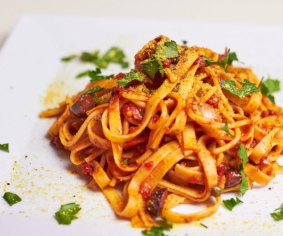 Simple Spicy Pasta