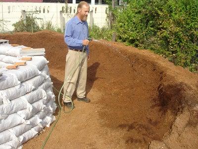 Moisten the Soil