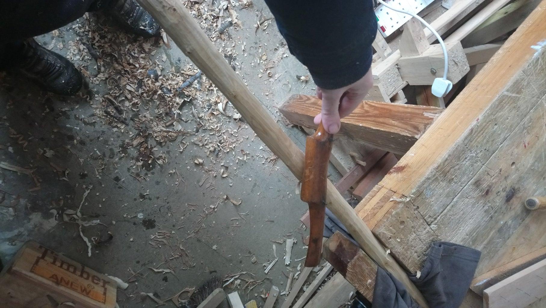 Preparing the Branch/neck