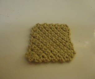 Third Beginner Crochet Project: Increase/Decrease Square