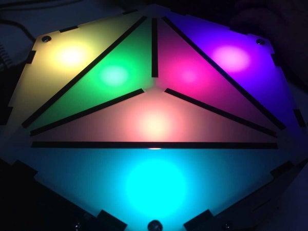 Glasso - a Gravity Sensing Hackable RGB Ornament