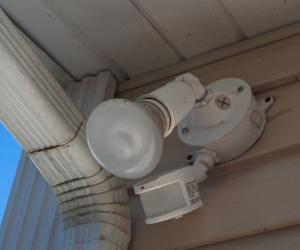 Turn Your Outdoor Lights Into Motion Detector Lights