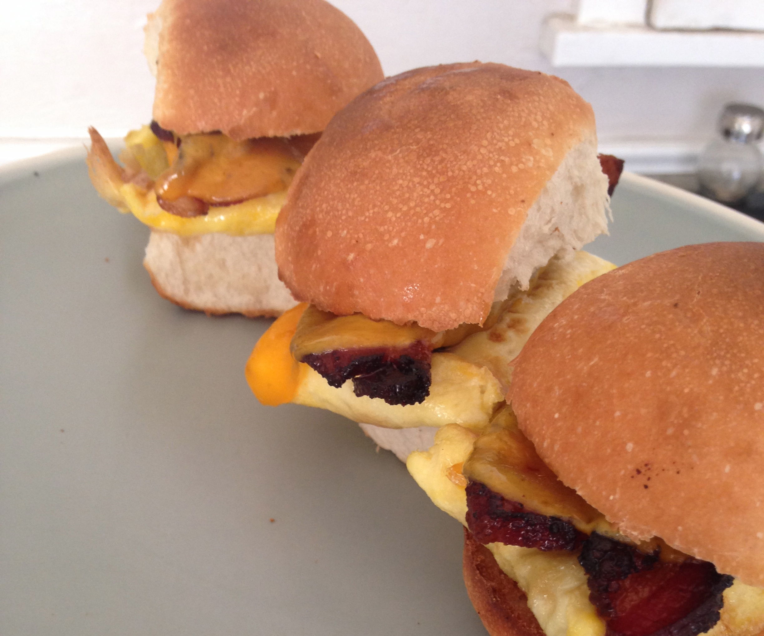 Breakfast Slider Trio