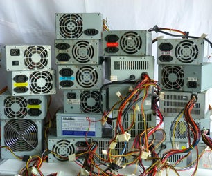 Recovering Old PC Power Supplies