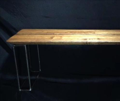 Rebar Leg Bench