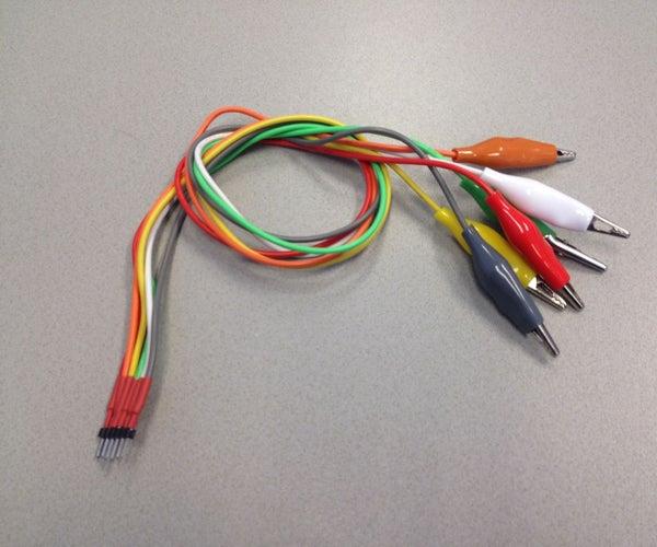Aligator Clip Connector for MakeyMakey