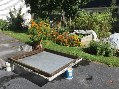Not Just a Cold Frame Lid Anymore...