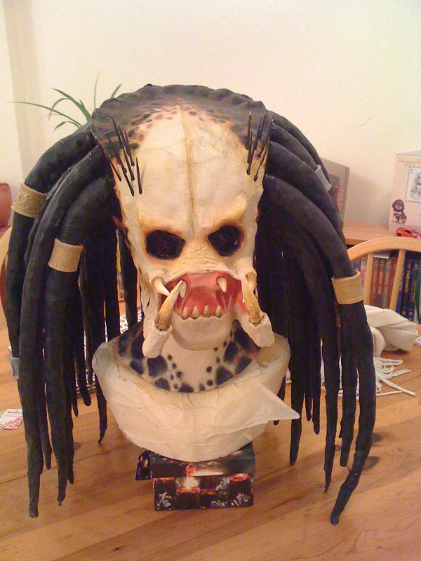 How to Make a Latex Mask With a 2 Part Mold