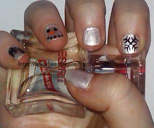 Snowman Nail Art Tutorial   Samantha Beauty