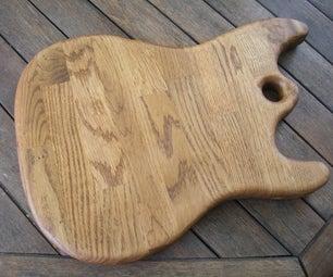 "Stratocaster Chopping Board - A.k.a. the ""StratoChopper"""