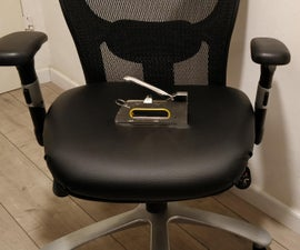 How to Reupholster an Office Chair | Replacing Fabric of a Chair | Home DIY Upholstery