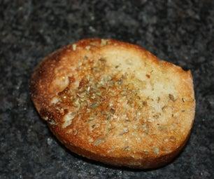 Knuspriger Brot Snack