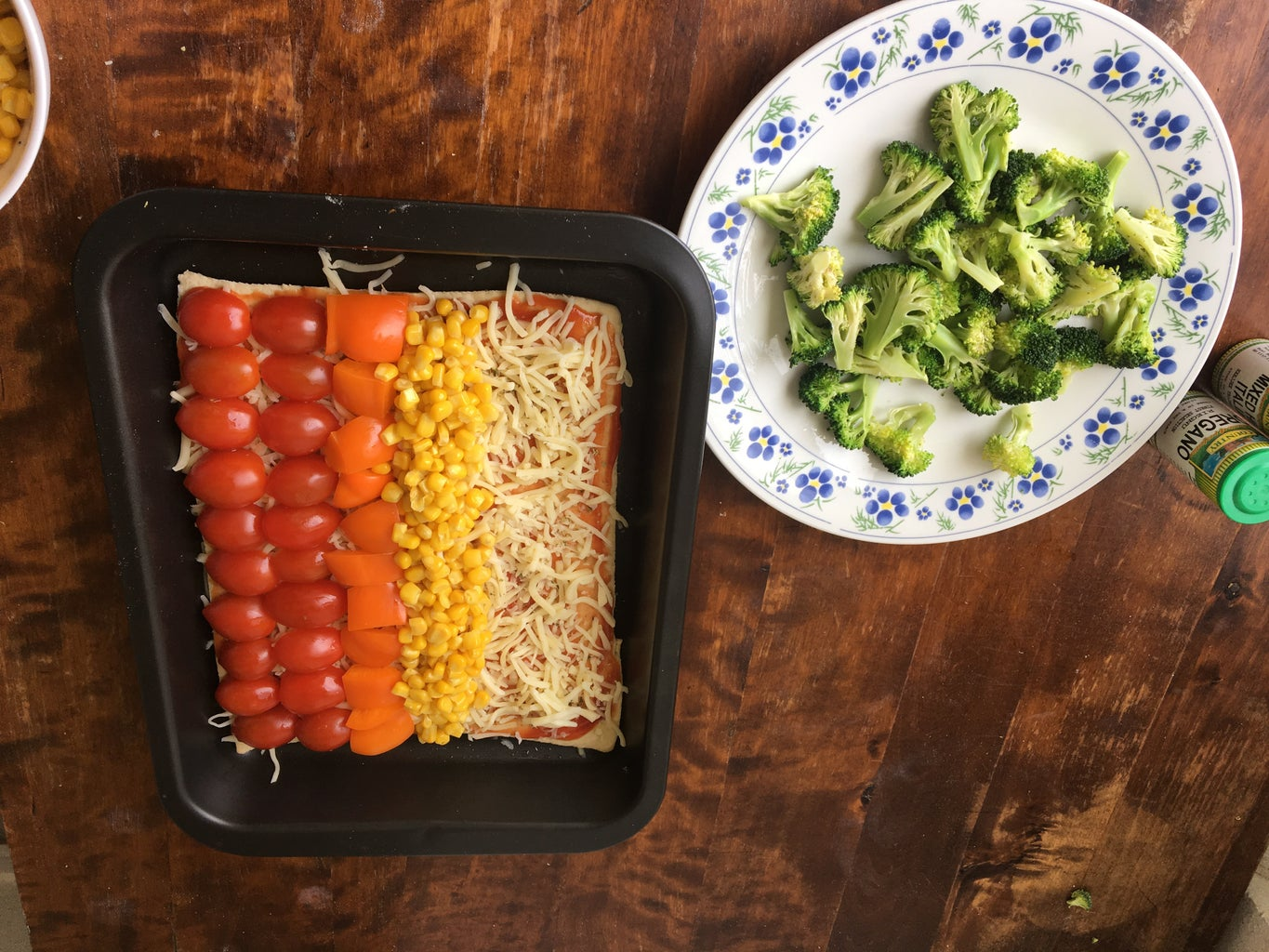 Layer the Toppings:
