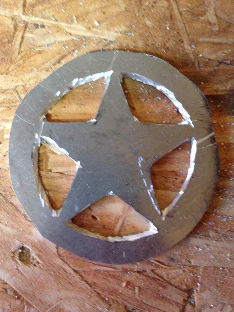 Cutting Out Star