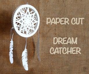 3D Paper Cut Dreamcatcher