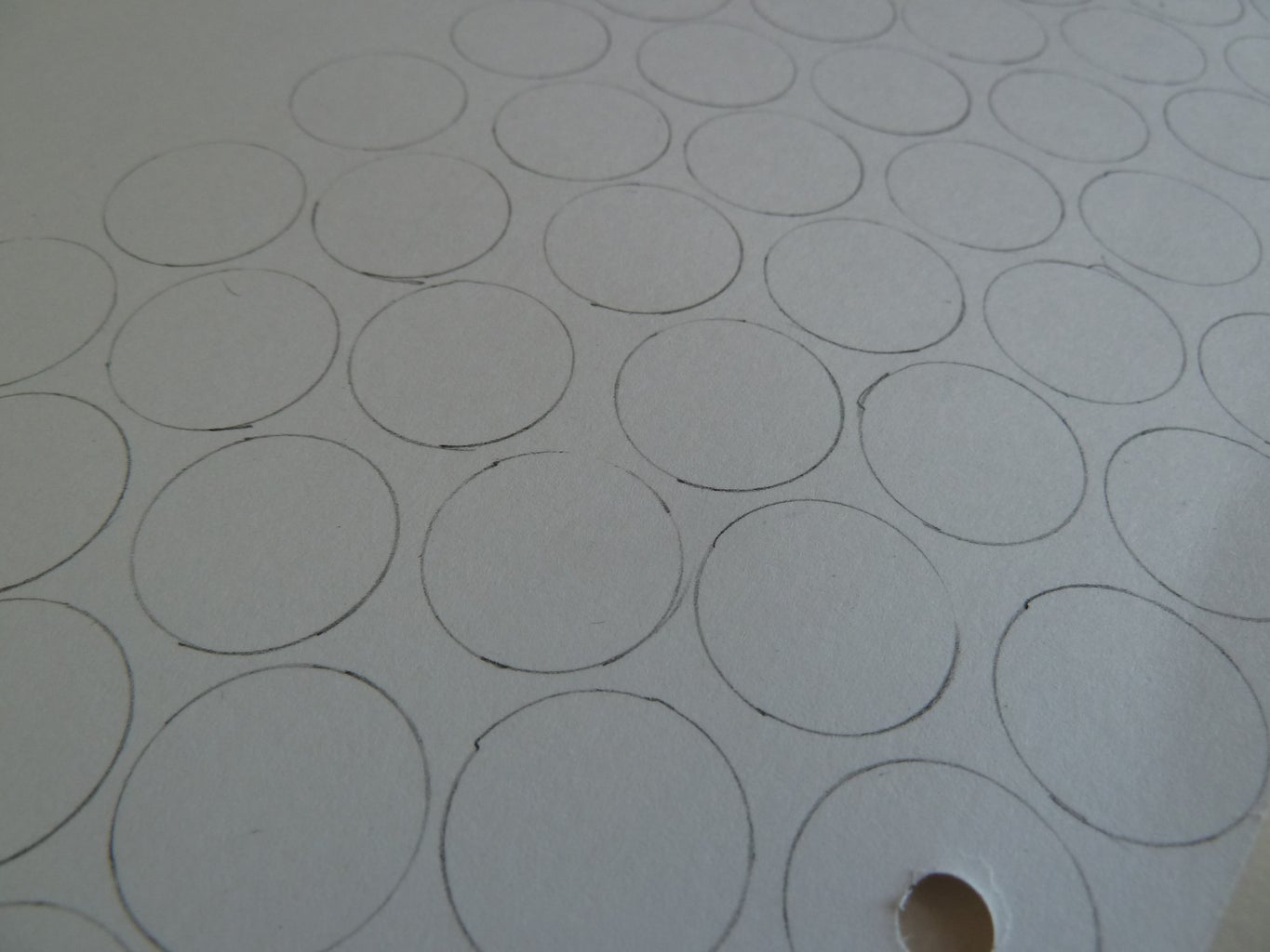 Draw and Cut the Circles