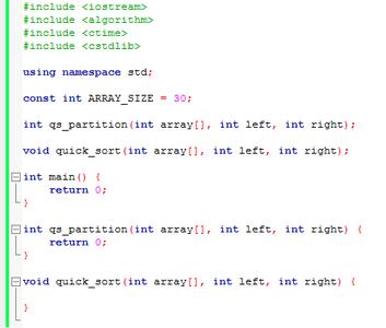 Basic Outline of the Program