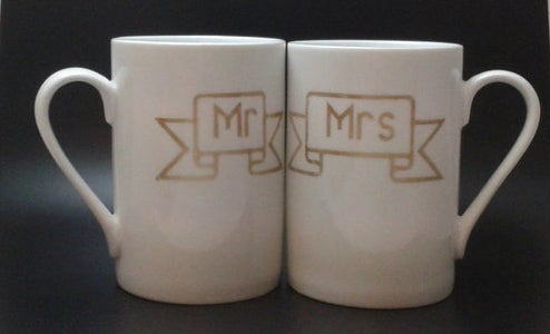Completed Mugs!