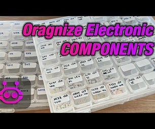 Cheap and Easy Organizing Hacks for Small Components