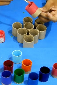 Let's Paint the Pipe Pieces!