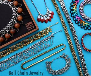 WIKarts: Making Jewelry With Interwoven Ball Chain
