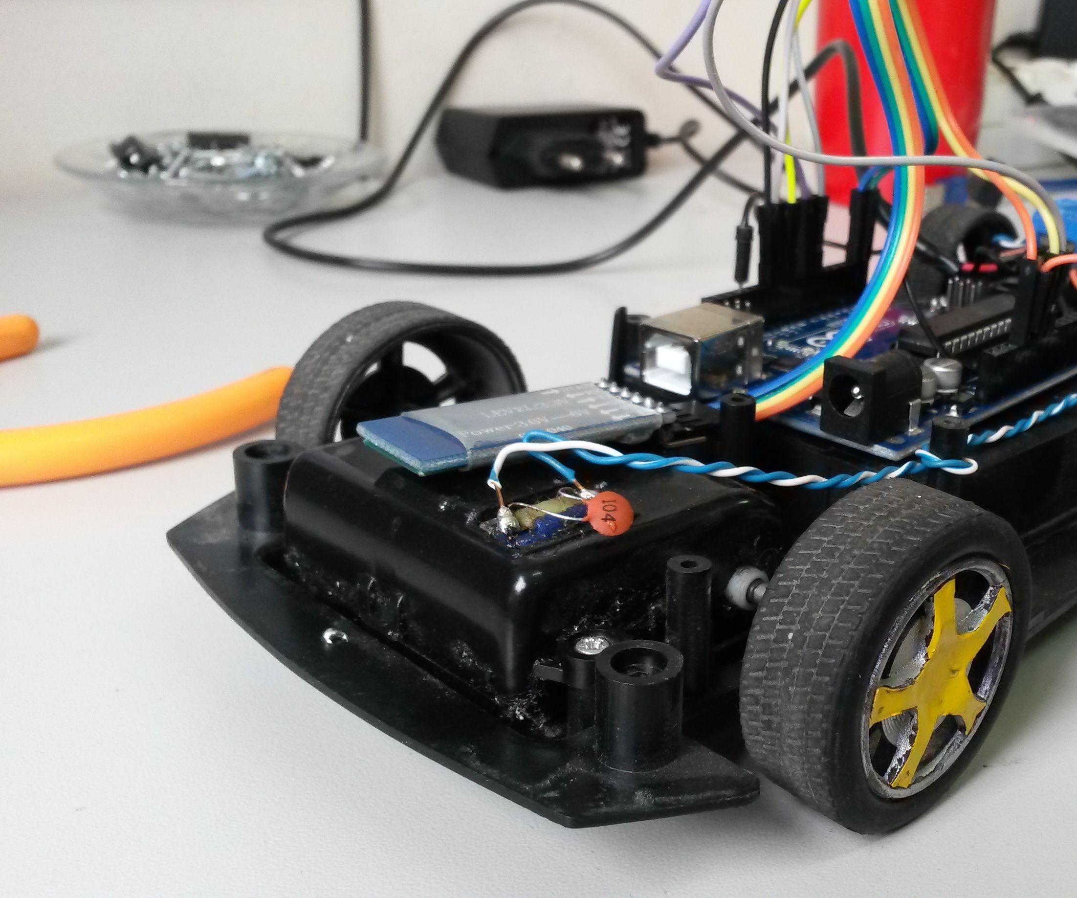 Arduino Bluetooth Car Control